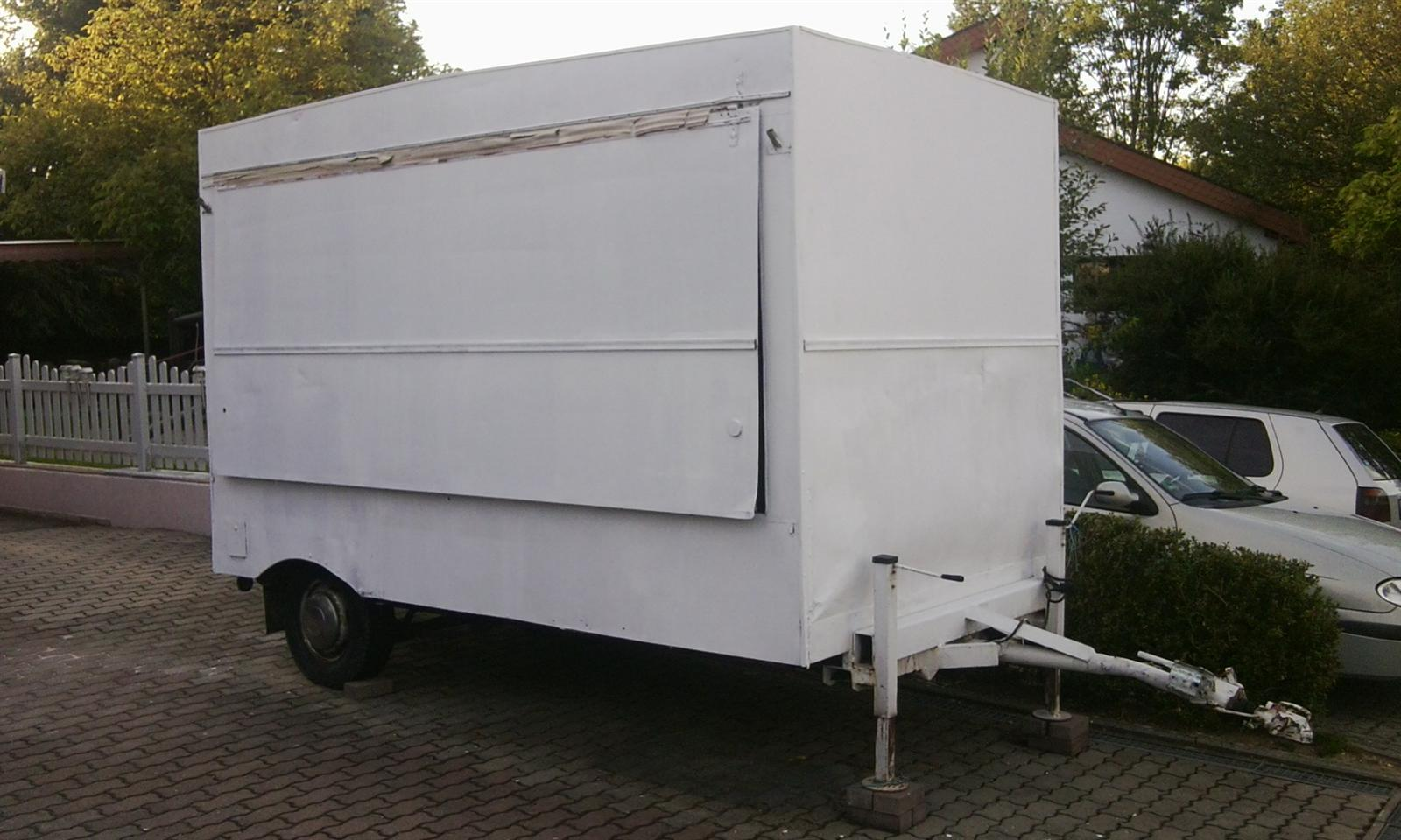 verkaufswagen imbisswagen zum herrichten nur f r festen. Black Bedroom Furniture Sets. Home Design Ideas